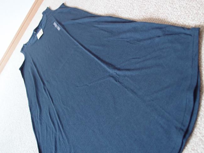 ストライプ半袖シャツ