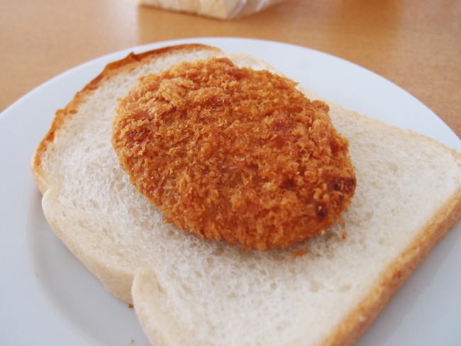 天然酵母のパンとコロッケ