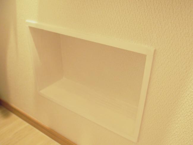 壁厚収納の完成