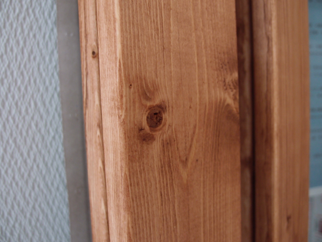 木材に浸透するキシラデコール