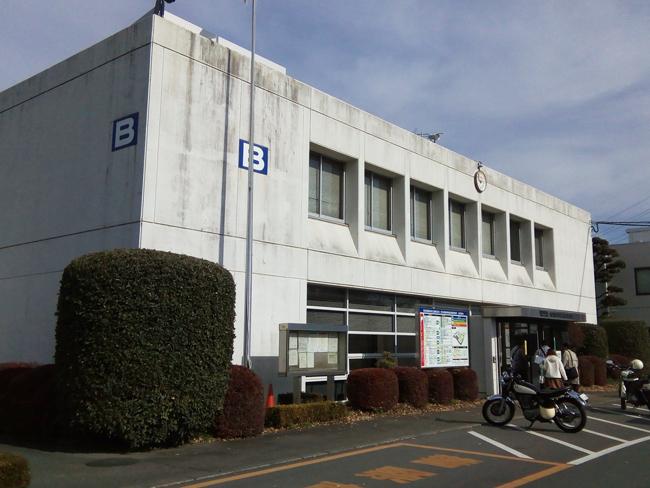 所沢自動車検査登録事務所B棟