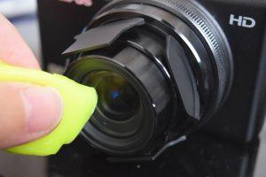 レンズの掃除