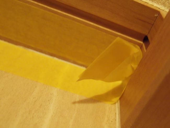 マスキングテープの持ち手を作る