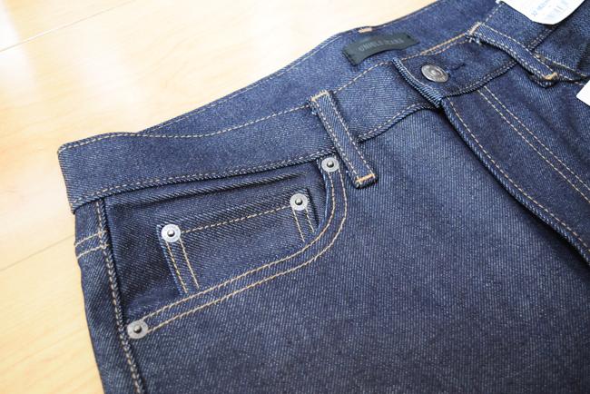 セルビッジジーンズのポケット