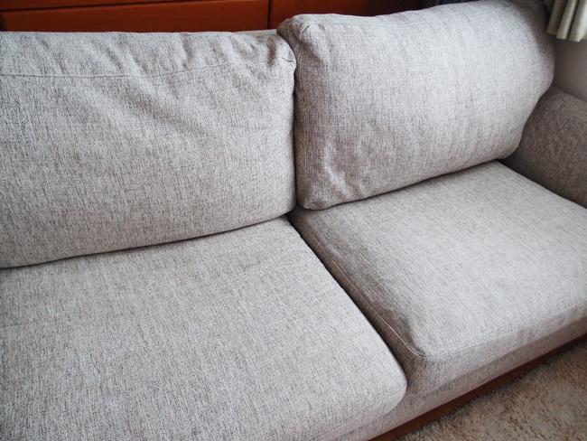 ソファーのへたりが解消