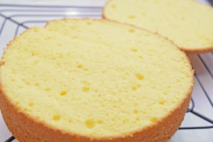 本格スポンジケーキの作り方