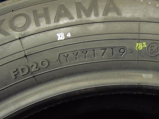 タイヤの製造日