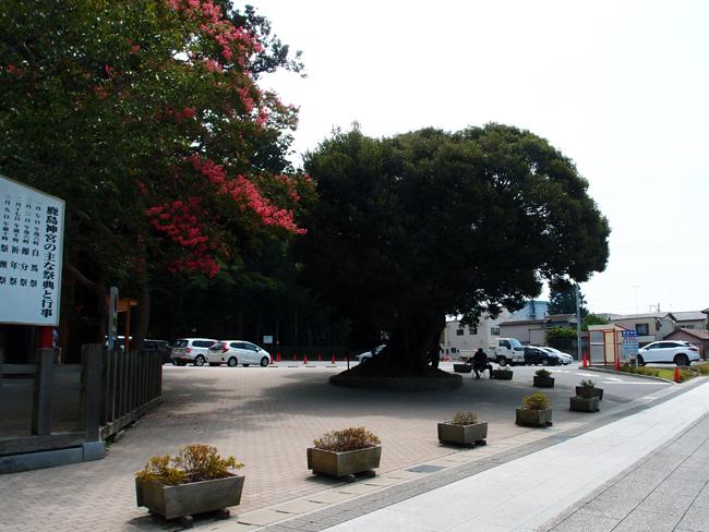 鹿島神宮入口駐車場