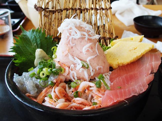 おさかなセンターの海鮮丼