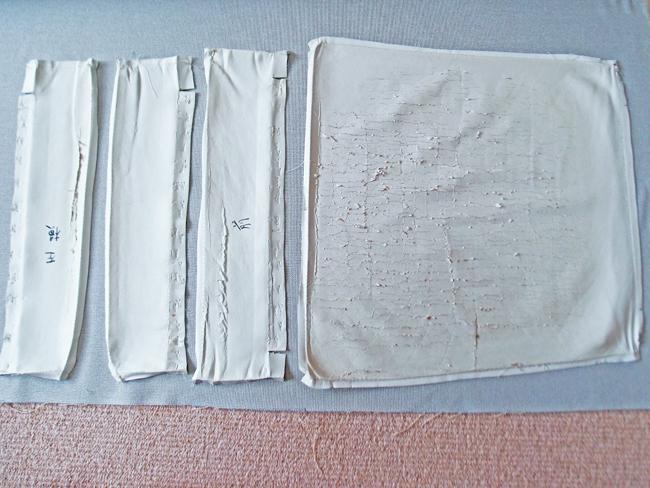 型紙を使って線を描く
