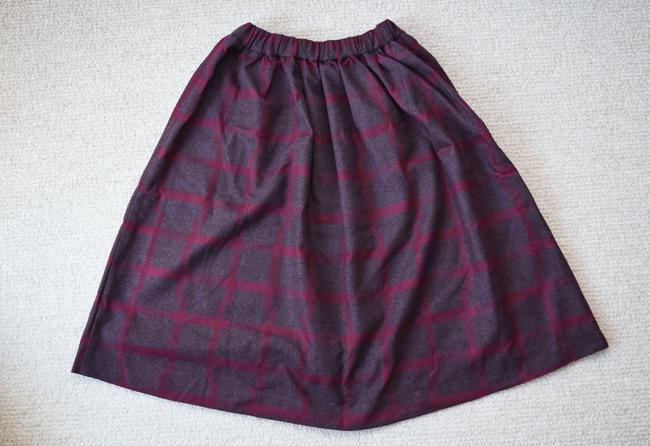 コムサイズム女の子用福袋中身スカート